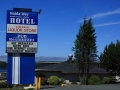 Haida Way Hotel Sign