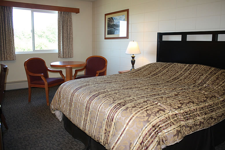 Port McNeill Hotel Room