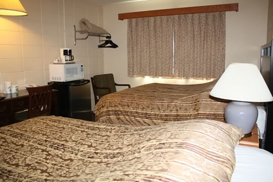 Our rooms are clean and comfortable. Come stay with us.